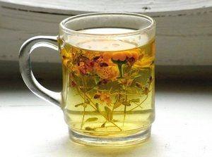Сбор трав для чая